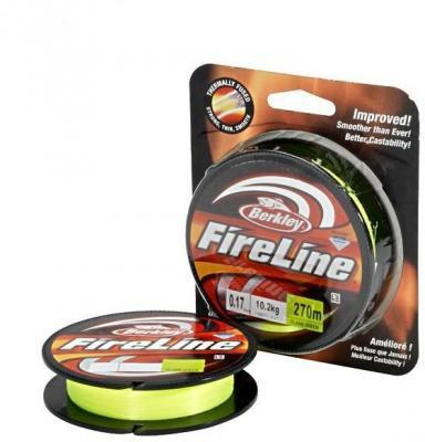 "Леска плет. ""BERKLEY"" FireLine Flame Green 0.32 110м (New)"