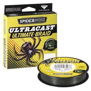 "Леска плет. ""SPIDERWIRE"" Ultracast 8 Carrier Green 0.25мм 150м 1363790"