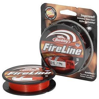 "Леска плет. ""BERKLEY"" FireLine Red 0.12 110м 1308640"