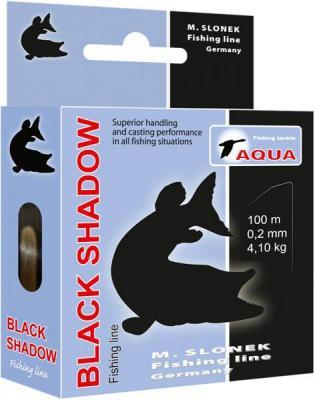 Леска Aqua Black Shadow 0.20 100м