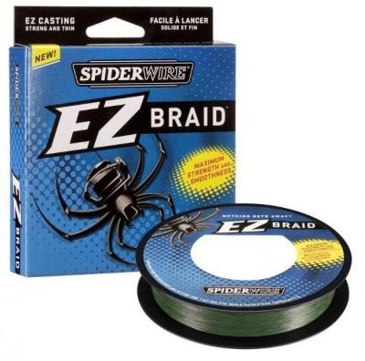 "Леска плет. ""SPIDERWIRE"" EZ Braid 0.12 100м зеленый 1201507"