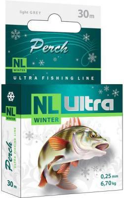 "Леска ""AQUA"" NL Ultra Perch окунь 0.25 30м"