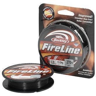 "Леска плет. ""BERKLEY"" FireLine Smoke 0.08 110м (New)"