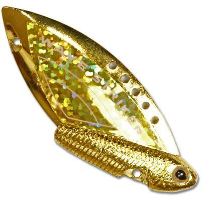 "Блесна ""KOSADAKA"" Wave Striker 10г Gold/Gold"