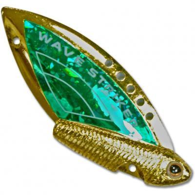 "Блесна ""KOSADAKA"" Wave Striker 10г Gold/Green"