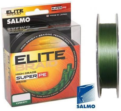"Леска плет. ""SALMO"" Elite Braid 0.24 125м (G)"