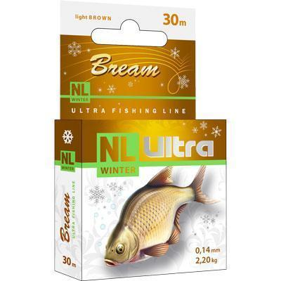 "Леска ""NL Ultra Bream"" лещ 0.18 30м"