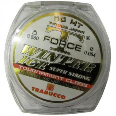 "Леска ""TRABUCCO"" T-Force Winter Ice 0.08 50м"