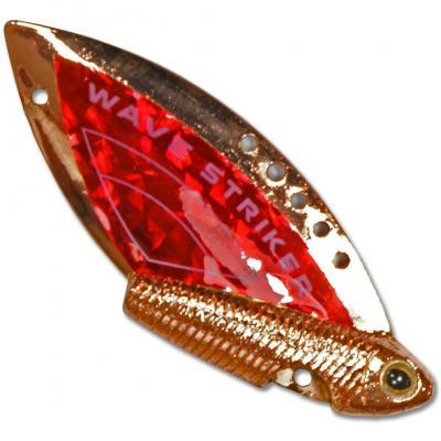 "Блесна ""KOSADAKA"" Wave Striker 7г Copper/Red"