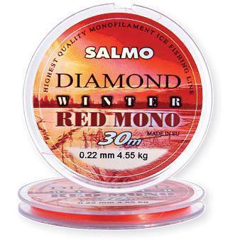 "Леска ""SALMO"" Diamond Winter Red Mono 0.20 30м"