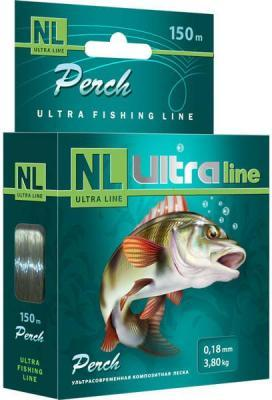 "Леска ""AQUA"" NL Ultra Perch окунь 0.22 150м"
