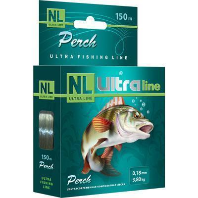 "Леска ""NL Ultra Perch"" окунь 0.22 150м"