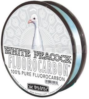 "Леска ""BALSAX"" White Peacock флюорокарбон 0.40 50м"