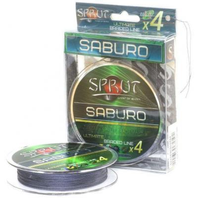 "Леска плет. ""SPRUT"" Saburo Soft Ultimate X 4 Space Gray 0.20 95м"