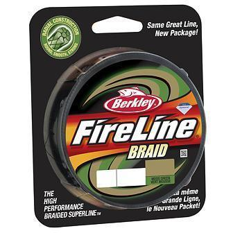 "Леска плет. ""BERKLEY"" FireLine Braid Lo-vis Green 0.23 270м 1312449"