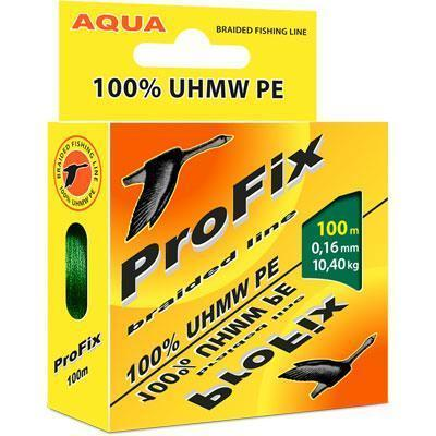 Леска плет. Aqua ProFix Dark green 0.18 100м
