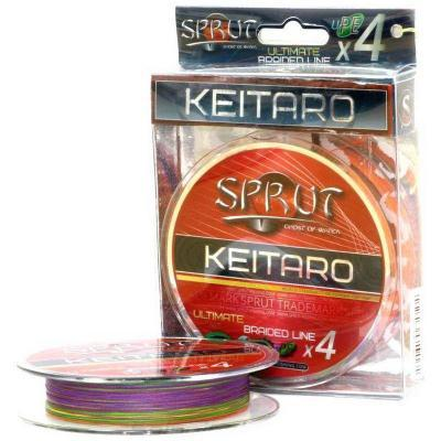 "Леска плет. ""SPRUT"" Keitaro Ultimate X 4 Multicolor 0.12 140м"