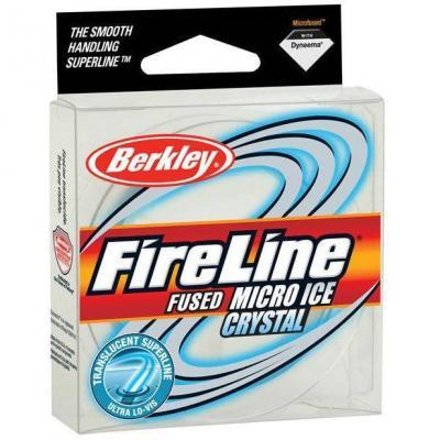 "Леска плет. ""BERKLEY"" FireLine Micro Ice Crystal 0.17 45м 1127424"