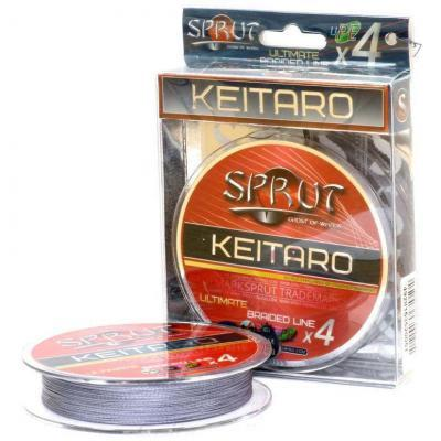 "Леска плет. ""SPRUT"" Keitaro Ultimate X 4 Space Grav 0.12 140м"