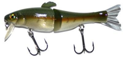 "Воблер ""Reaction Strike"" AM-90 Metallic Largemouth Bass 9см"